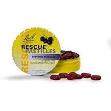 RESCUE® Pastilles Blackcurrent Flavour